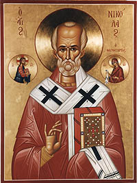 St. Nicholas the Wonderworker, Bishop of Myra in Lycia